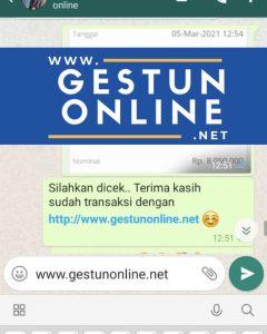 GESTUN ONLINE JAKARTA TERPERCAYA
