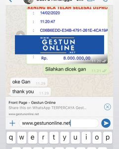 Gestun online jakarta terpercaya gestunonline.net